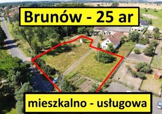 działka na sprzedaż - Chocianów (gw), Brunów
