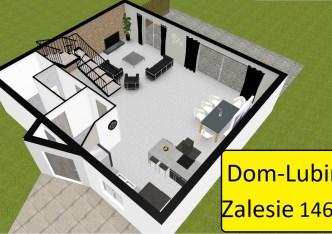 dom na sprzedaż - Lubin, Zalesie